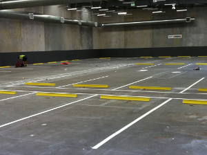 car park Line marking1