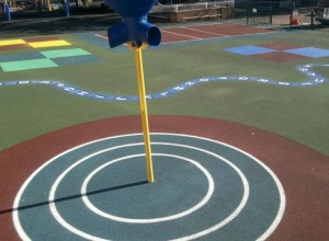 Synthetic Rubber Surface